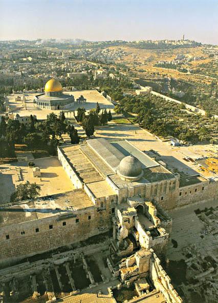 Masjid Al Aqsa dan Kubah Al Sakhrah