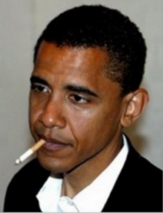 Obama Ngerokok